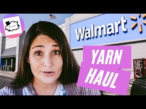 WALMART YARN HAUL!