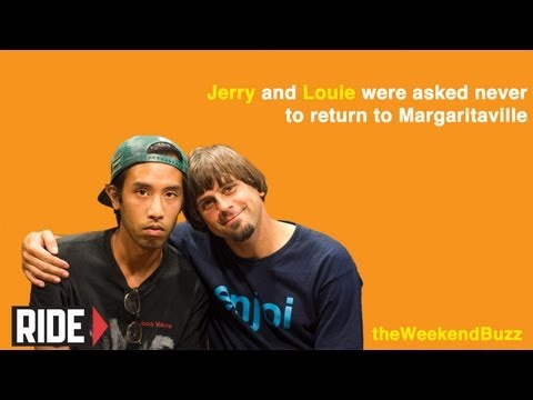 Jerry Hsu & Louie Barletta: Out of the closet, High with fans, & Slams! Weekend Buzz ep. 30