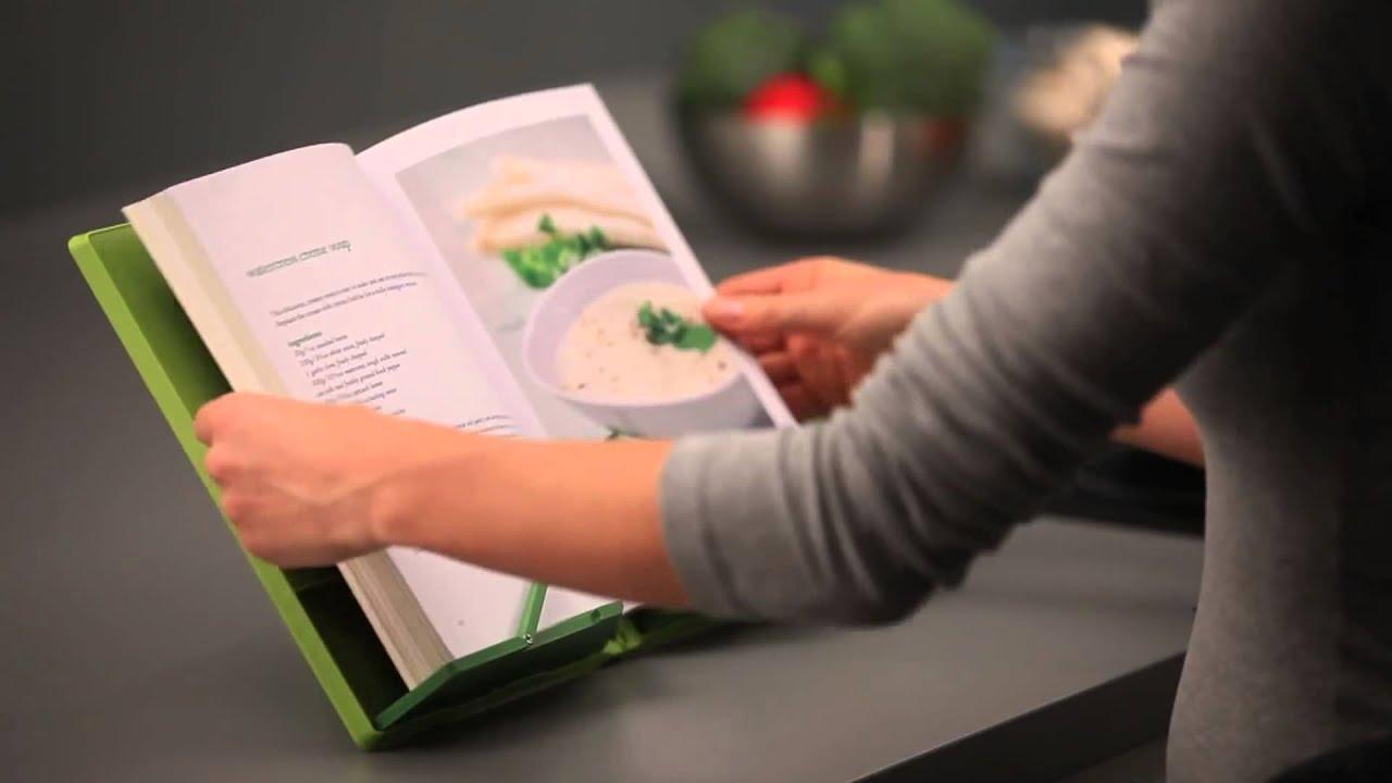 Joseph joseph cookbook leggio da tavolo pieghevole - Costruire un leggio da tavolo ...