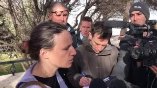 Eyewitness of ramming attack in Jerusalem