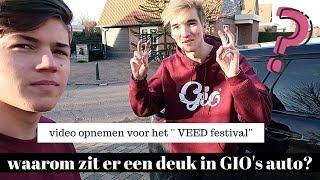 VEED video opnemen met GIO & PETRUS!! DEUK IN GIO'S AUTO?? | Vincent Visser