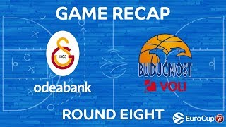 Highlights: Galatasaray Odeabank Istanbul - Buducnost Voli Podgorica