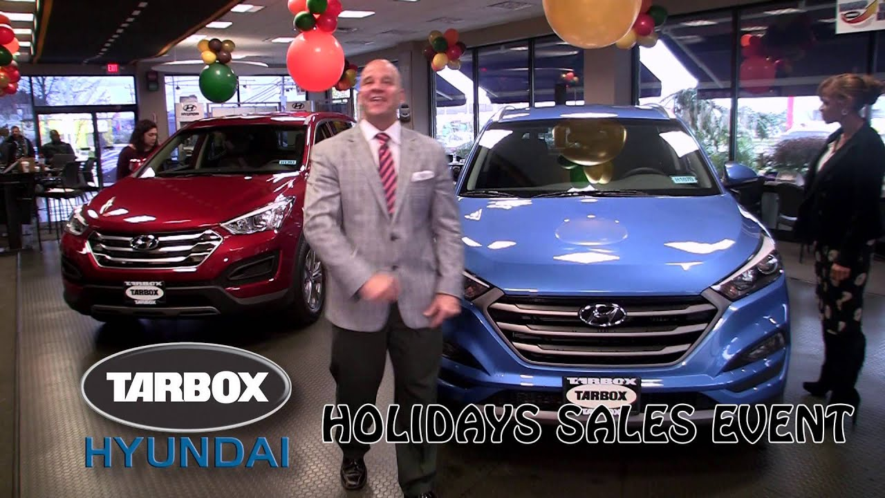 Tarbox Hyundai Holidays Sales Event 2015 - YouTube