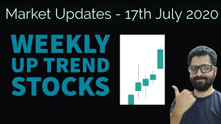 Market Updates TODAY - 17th July | Weekly Up Trend Stocks Identification | Tamil Share | Intraday