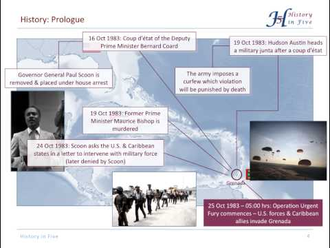 U.S. Invasion of Grenada / Operation Urgent Fury 1983