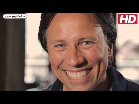 Interview at the Verbier Festival - Kristjan Järvi conductor