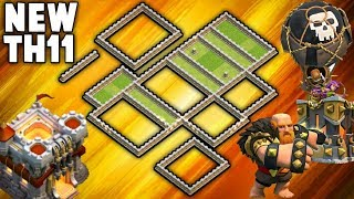 NEW TH11 WAR BASE & TH11 Clan War Leagues Best Defense Base | New War Base Design | Clash of Clans
