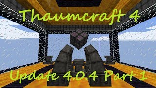 A Guide To Thaumcraft 4 - Part 44 - Enchanting, Arcane lamp and Salis Mundus (4.0.4 Update Part 1)