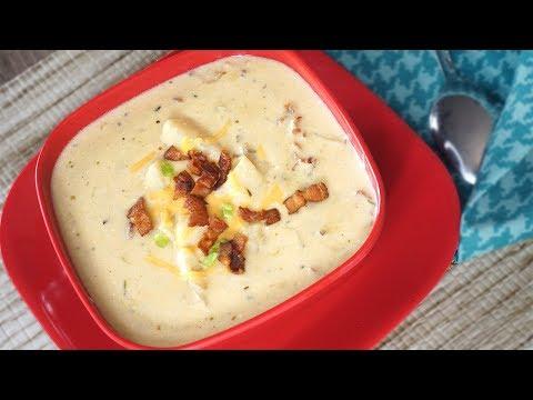The Best Loaded Potato Soup Recipe