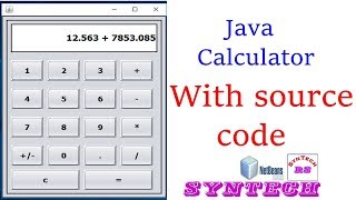 how to make calculator in java [with source code]