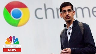 What's Next For Google After New Alphabet CEO Is Announced | NBC News NOW