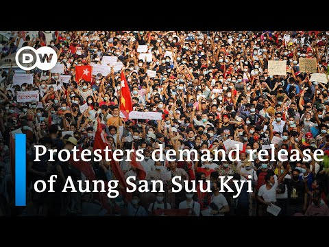 Myanmar's military junta blocks all internet as protests grow | DW News