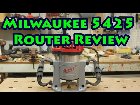 Milwaukee 5625-20 3-1/4hp Router