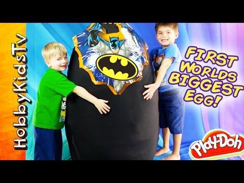 Giant BATMAN Surprise Egg