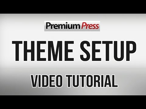 PremiumPress Theme Setup
