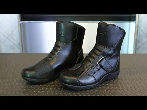 61547d1c9 Alpinestars Ridge Waterproof Boot | Motorcycle Superstore - YouTube