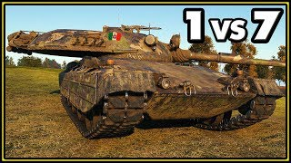 Progetto 65 - 11 Kills - 1 vs 7 - World of Tanks Gameplay