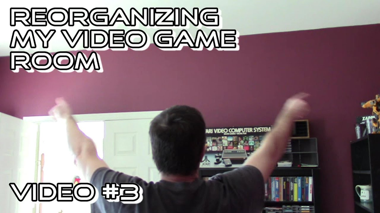 The DIY Video Game Storage Wall Shelf | Video Game Storage Solutions Ideas  | Video #3