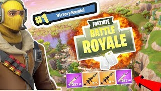 SWEET VICTORY! #1 VICTORY ROYALE - FORTNITE BATTLE ROYALE