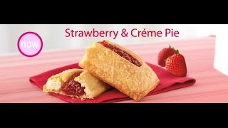 New! Mcdonald's Strawberry & Creme Pie Commercial Must See!!