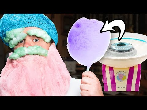 Testing A Cotton Candy Maker Toy