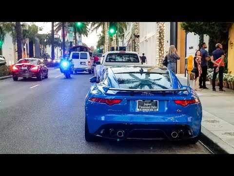Police Crackdown in Beverly Hills