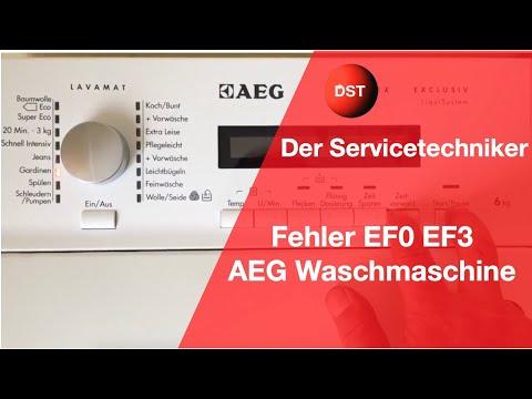 Aeg Kühlschrank Produktnummer : Fehler ef aeg was steckt dahinter zanker electrolux youtube