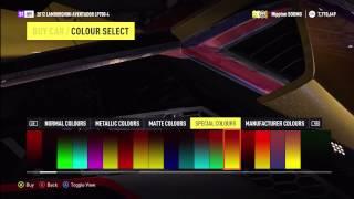 Purchasing a New Lamborghini Veneno Money Hack Mod Forza Horizon 2