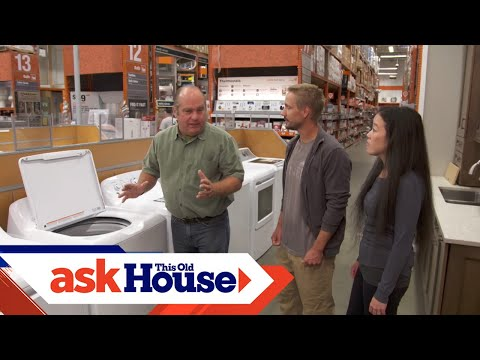 How to Choose and Install Laundry Appliances | Ask This Old House