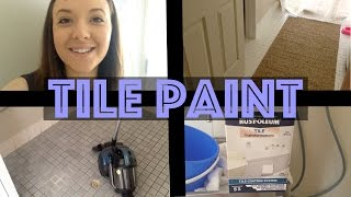 HOME   Laundry transformation with TILE PAINT