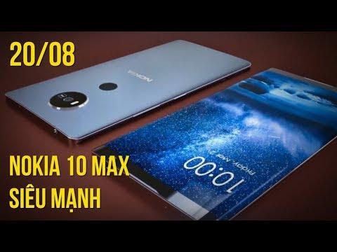 Nokia 10 Max RAM 8GB, ROM 512GB, bộ não iPhone 8 xuất hiện thực tế