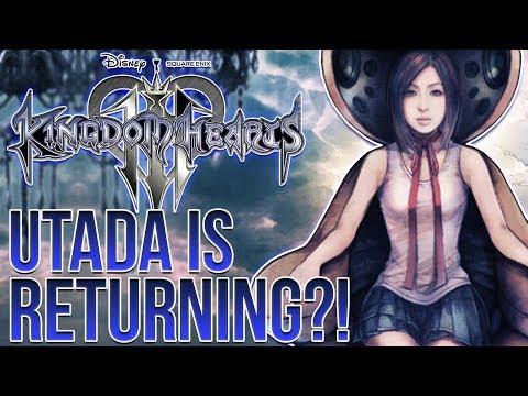 Kingdom Hearts 3 News - It Looks Like Utada Hikaru is Returning!