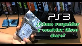 Tutorial como respaldar y cambiar disco duro del PS3 - The GameX