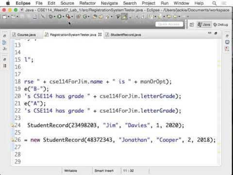 Login Panel | Student registration system in java part1