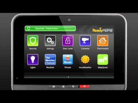 ReadyHome - How To Reboot Your Touchscreen