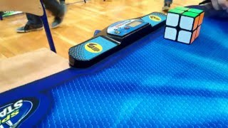 Official 2x2 Rubik's Cube 0.49 WR Single by Maciej Czapiewski.