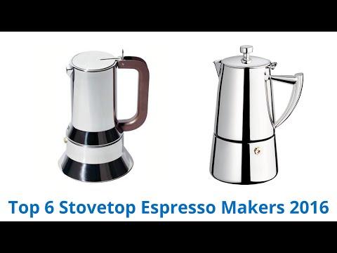 6 Best Stovetop Espresso Makers 2016