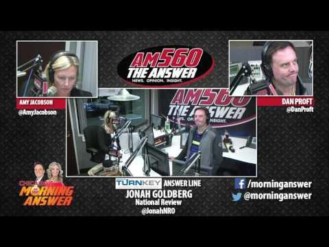 Chicago's Morning Answer - Jonah Goldberg - July 18, 2017