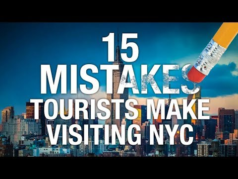 15 MOST Common NYC Tourist Mistakes (And How To Avoid Them) !