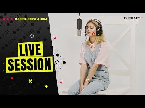 DJ Project Feat. Andia - Retrograd ⚡️ Live Session X GlobalREC.