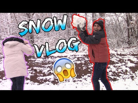 I Shoot the Biggest Snowball to my Sister!  Jaime Jimenez
