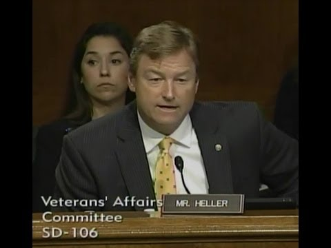ICYMI: Heller Questions Shinskeki at Senate Hearing