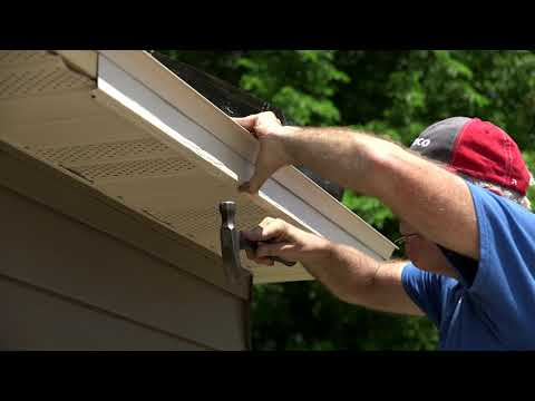 Soffit Installation Fascia Youtube