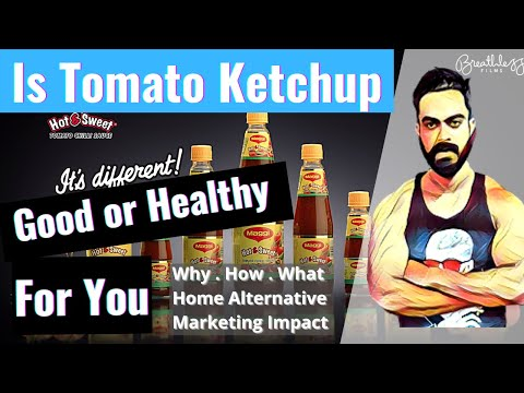 Is Tomato Ketchup Good For Your Health?? || FitSidd