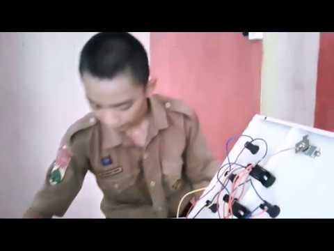 belajar merangkai panel listrik sistem dol youtube rh youtube com Komponen Panel Listrik Panel Listrik Daya Mitra
