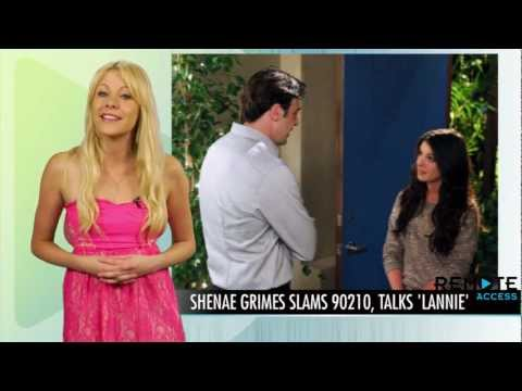 Shenae Grimes Slams 90210 Writers - Wants Lannie Back Together!