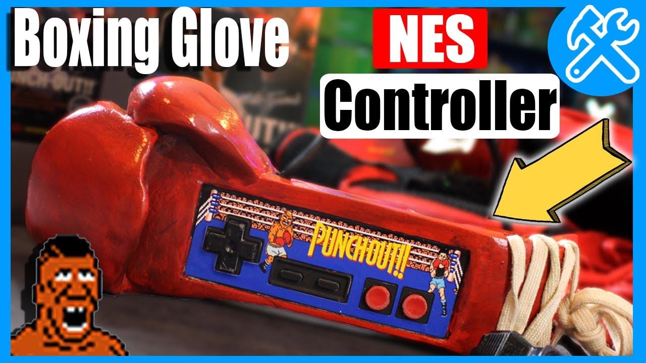 DIY NES Controller, UNBELIEVABLE Mike Tyson Boxing Glove ...