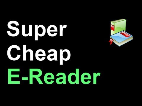 Super Cheap TouchScreen Android E-Reader/Tablet - Nook Simple Touch