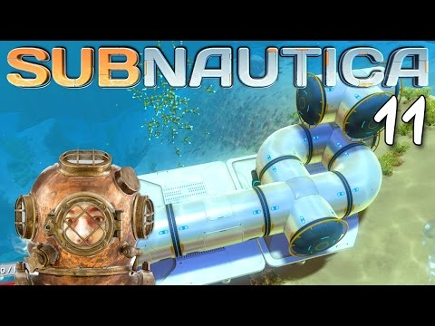 "Subnautica Gameplay Ep 11 - ""EPIC SEA BASES!!!"" 1080p PC"