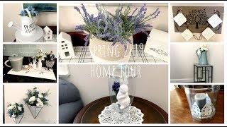 Budget Friendly Home Tour Spring 2019 | Dollar Tree DIYs | Farmhouse
